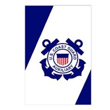 USCGAux-Flag-Journal.gif Postcards (Package of 8)