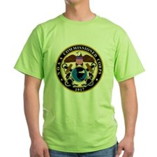 NOAA-Officer-Black-Shirt T-Shirt