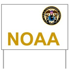 NOAA-Officer-Black-Shirt-2 Yard Sign