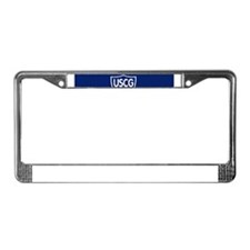 USCGAux-Rank-NADCO-Mousepad.gi License Plate Frame