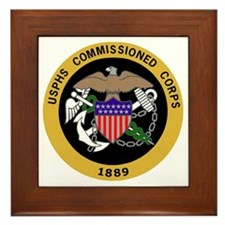USPHS-Commissioned-Corps-Yellow.gif Framed Tile