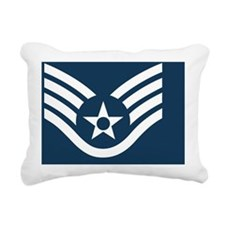 USAF-SSgt-Tile-2.gif Rectangular Canvas Pillow