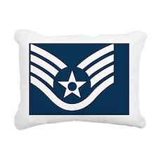 USAF-SSgt-Tile-2.gif Rectangular Canvas Pillow