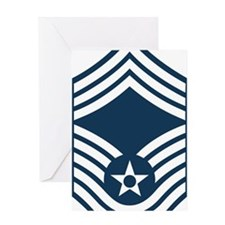 USAF-CMSgt-X.gif Greeting Card