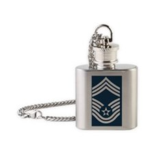 USAF-CMSgt-Greetings.gif Flask Necklace