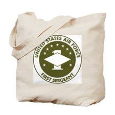 USAF-First-Sergeant-Avocado.gif Tote Bag