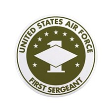 "USAF-First-Sergeant-Avocado.gif 3.5"" Button"