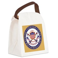 USCG-TraCen-Cape-May-Button.gif Canvas Lunch Bag