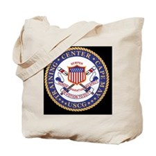 USCG-TraCen-Cape-Clock.gif Tote Bag