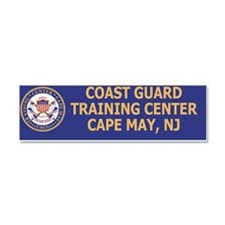 USCG-TraCen-Cape-May-BSticker.gi Car Magnet 10 x 3