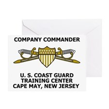 USCG-Company-Commander-Messenger.gif Greeting Card