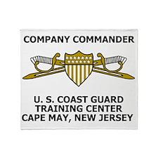 USCG-Company-Commander-Messenger.gif Throw Blanket