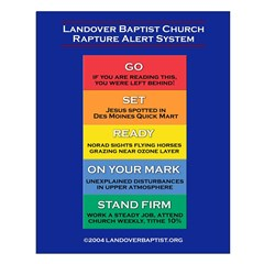 Rapture Alert Posters