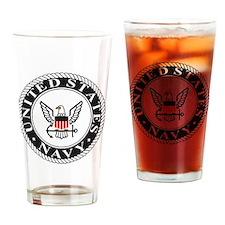navy-logo-15-fn.gif Drinking Glass