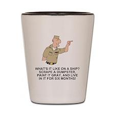 Navy-Humor-Life-On-A-Ship-Khaki.gif Shot Glass