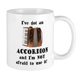 I've Got an Accordion Small Mug