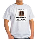 I've Got an Accordion Ash Grey T-Shirt
