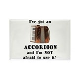 I've Got an Accordion Rectangle Magnet (10 pack)
