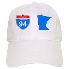 Sign-Minnesota-Interstate-94-Mug.gif Baseball Cap