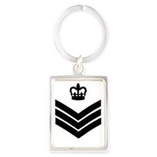 RAF-Flight-Sergeant-Messenger.gi Portrait Keychain