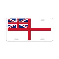 Royal-Navy-Black-Shirt Aluminum License Plate