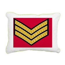 British-Army-Sergeant-Go Rectangular Canvas Pillow