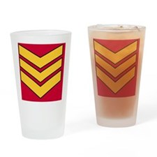 British-Army-Guards-Sergeant-Magnet Drinking Glass