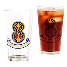 Army-8th-Infantry-Div-5-Bonnie.gif Drinking Glass