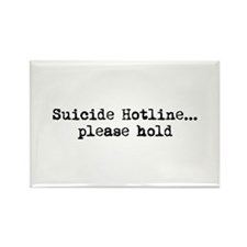 Suicide Hotline Rectangle Magnet
