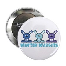 Winter Wabbits Button