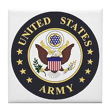Army-Emblem-3X-Blue.gif Tile Coaster
