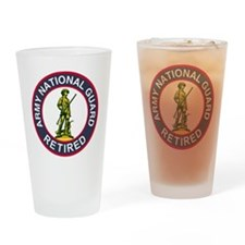 ARNG-Retired-Red-Blue.gif Drinking Glass