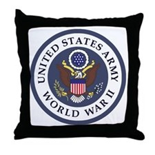 ARMY-WWII-Veteran-Bonnie-3.gif Throw Pillow