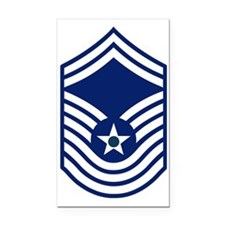 3-USAF-CMSGT-Old-Bonnie.gif Rectangle Car Magnet