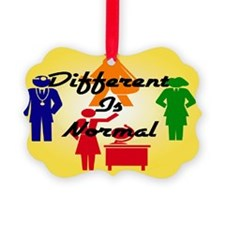 Different-Is-Normal-People-Magnet Ornament