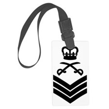 British-Army-PTI-Staff-Sergeant- Large Luggage Tag
