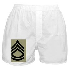 Army-SFC-Olive-Sticker Boxer Shorts