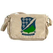 Army-506th-Infantry-WWII-Currahee-Pa Messenger Bag