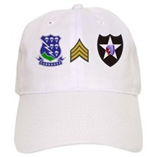 Army-506th-Infantry-2nd-Infantry-Div-SGT-Mu Baseball Cap