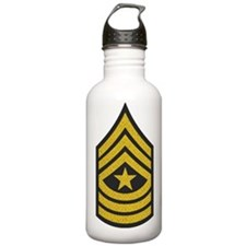 Army-SGM-Gold-Blue-Fan Water Bottle