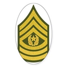 Army-CSM-Gold-Green-Fancy Decal