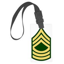 Army-MSG-Green Luggage Tag