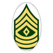 Army-1SG-Green Decal