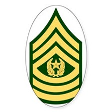 Army-CSM-Green Decal