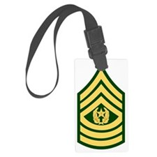 Army-CSM-Green Luggage Tag