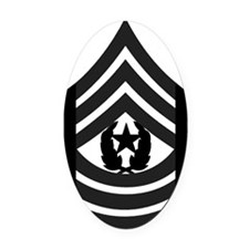 2-Army-CSM-Subdued-Pin Oval Car Magnet