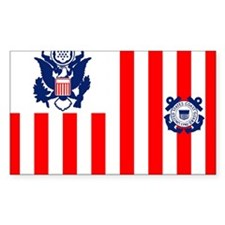 USCG-Flag-Ensign Decal