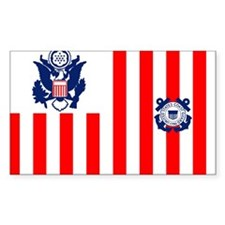 USCG-Flag-Ensign-Outlined Decal