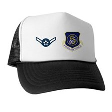 USAF-5th-AF-Amn-Mug Trucker Hat