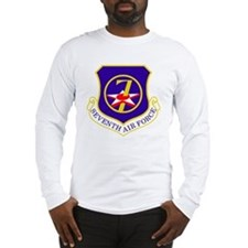 USAF-7th-AF-Shield Long Sleeve T-Shirt